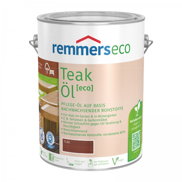 REMMERS ECO TEAK-OEL - 5 LTR (TEAK)