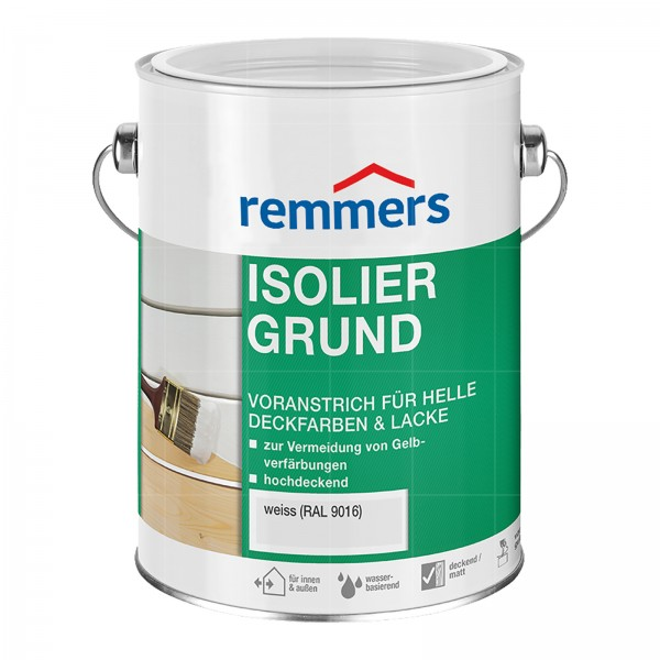 Remmers ISOLIERGRUND - 2.5 LTR (WEISS RAL 9016)