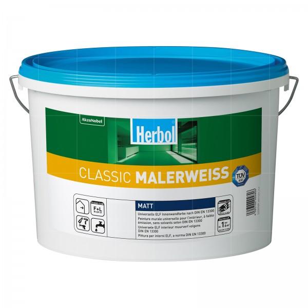 HERBOL CLASSIC MALERWEISS - 12.5 LTR (WEISS)