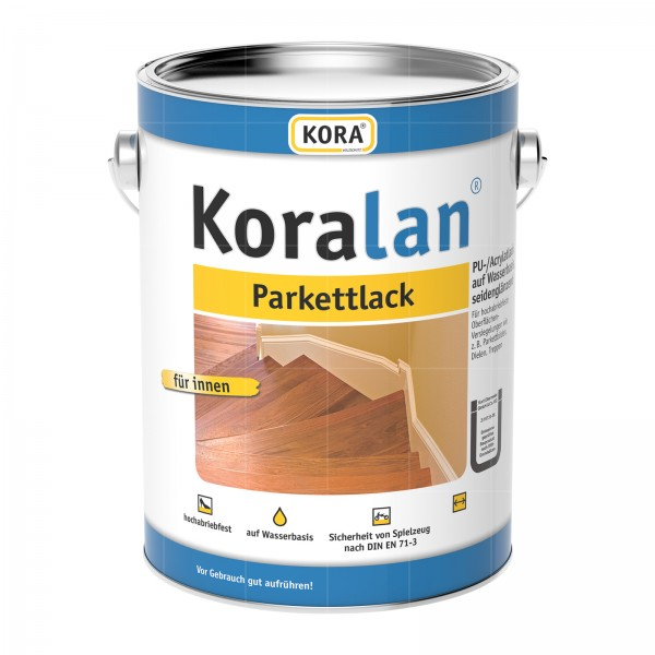 KORA KORALAN PARKETTLACK - 2.5 LTR (FARBLOS)