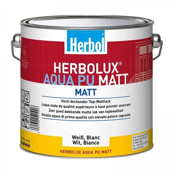 HERBOL HERBOLUX AQUA PU MATT - 2.5 LTR (WEISS)