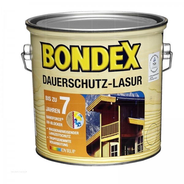 BONDEX DAUERSCHUTZ-LASUR - 3 LTR