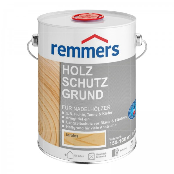 Remmers HOLZSCHUTZ-GRUND - 5 LTR (FARBLOS)