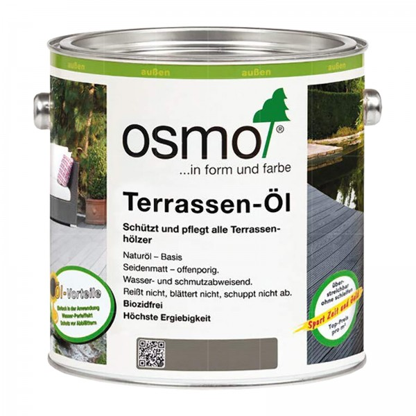 OSMO TERRASSEN-OEL - 2.5 LTR