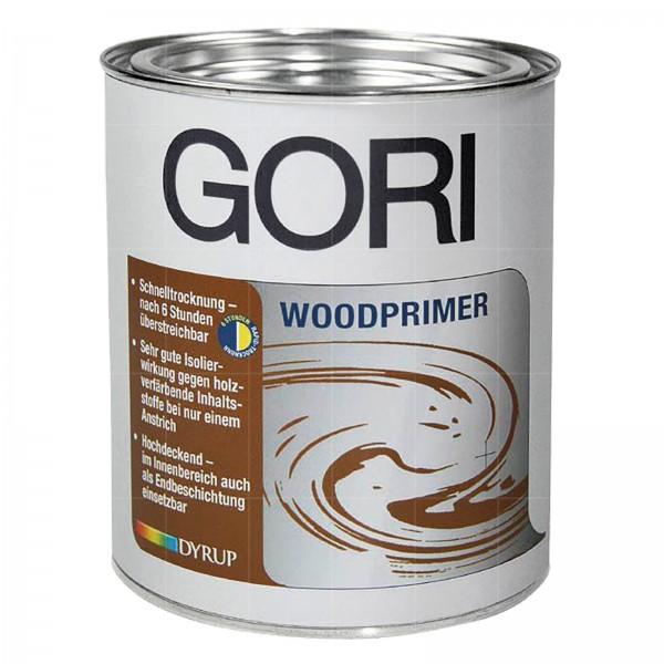 GORI WOODPRIMER - 2.5 LTR (WEISS)