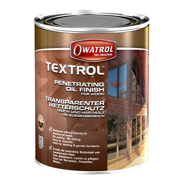 OWATROL TEXTROL - 2.5 LTR (FARBLOS MATT TRANSPARENT)