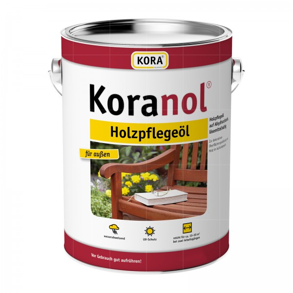 KORA KORANOL HOLZPFLEGEOEL - 5 LTR