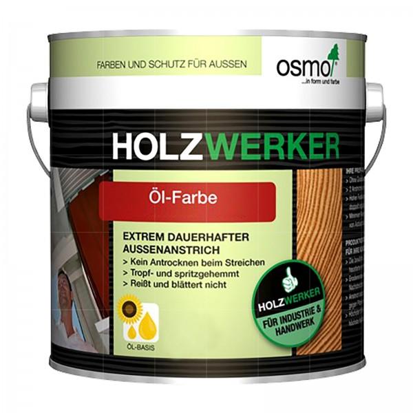 OSMO HOLZWERKER OEL-FARBE - 2.5 LTR