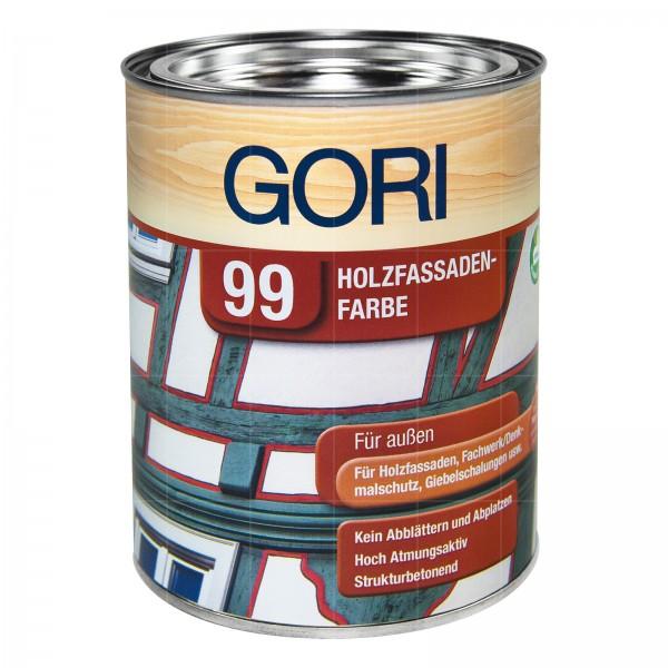 GORI 99 HOLZFASSADEN-FARBE - 0.75 LTR