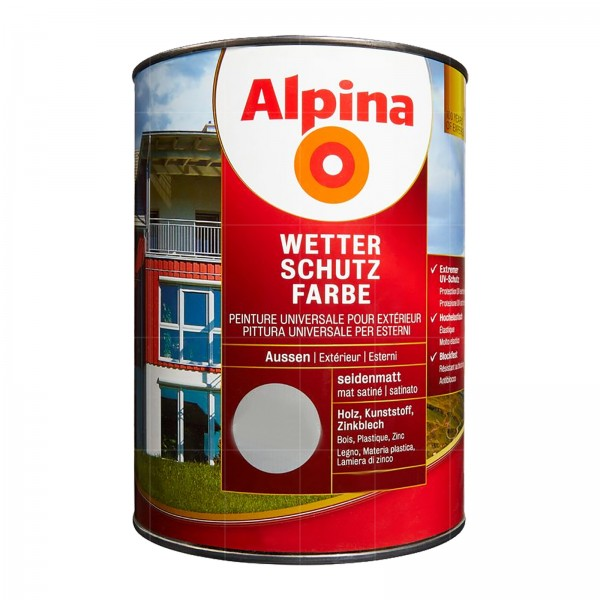 ALPINA WETTERSCHUTZFARBE - 2.5 LTR