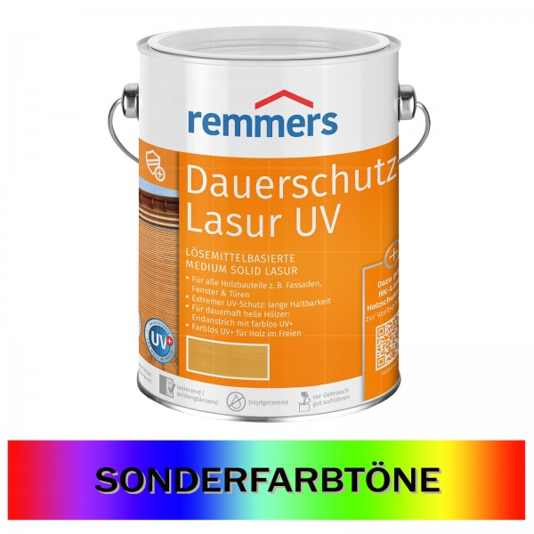 REMMERS DAUERSCHUTZ-LASUR UV - 5 LTR (SONDERTON)