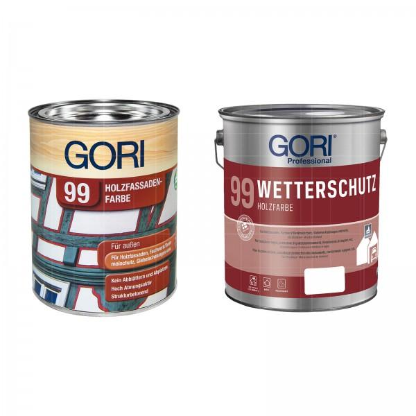 GORI 99 WETTERSCHUTZ HOLZFARBE - 2.5 LTR
