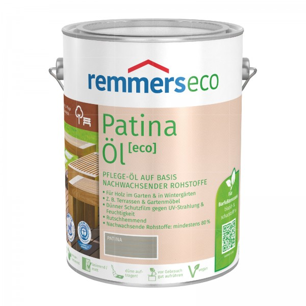REMMERS ECO PATINA-OEL - 2.5 LTR (SILBERGRAU)