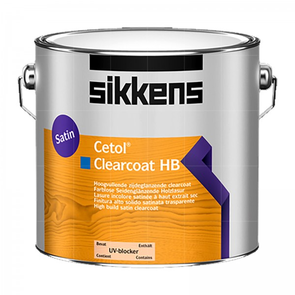 SIKKENS CETOL CLEARCOAT HB - 2.5 LTR (FARBLOS)