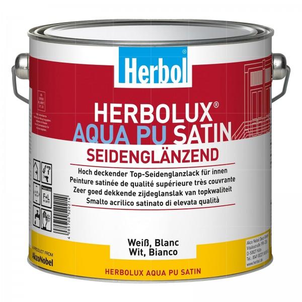 HERBOL HERBOLUX AQUA PU SATIN - 0.75 LTR (WEISS)