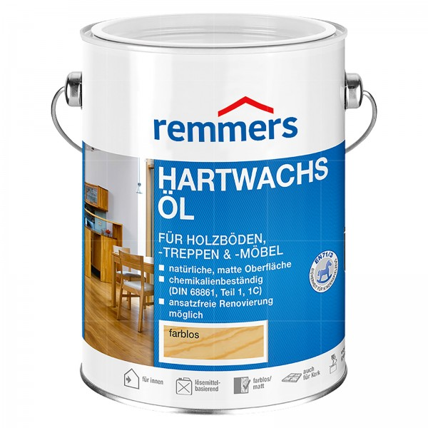 REMMERS HARTWACHS-OEL - 0.75 LTR (FARBLOS)