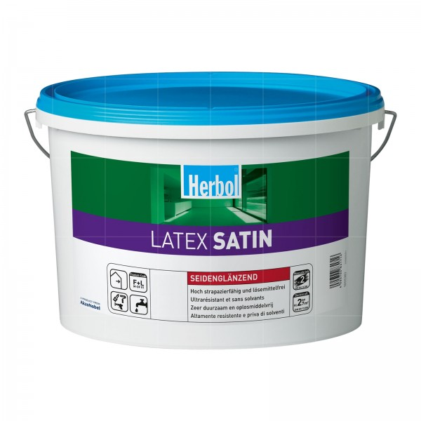 HERBOL LATEX SATIN - 5 LTR (WEISS)