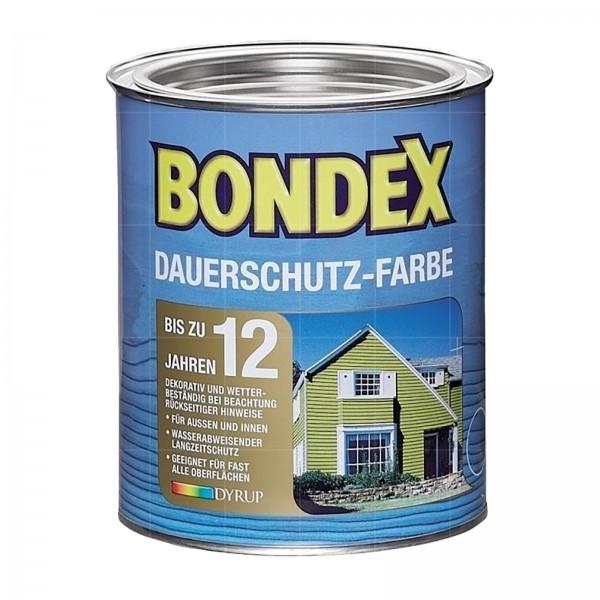 BONDEX DAUERSCHUTZ-FARBE - 0.75 LTR