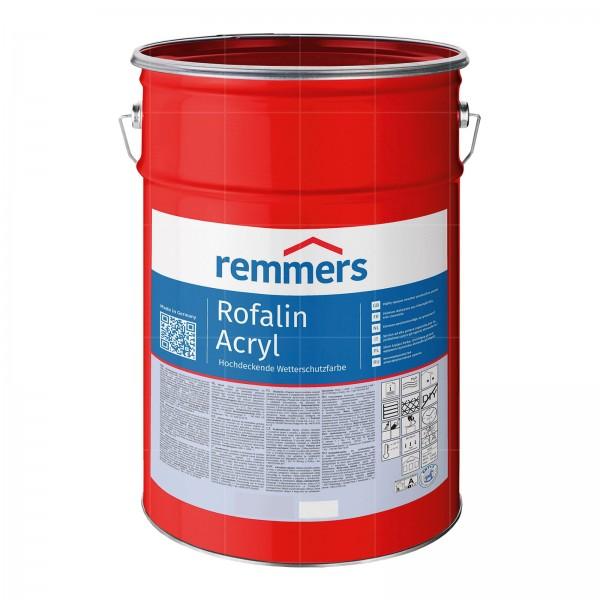 Remmers ROFALIN ACRYL - 0.75 LTR (WEISS RAL 9016)