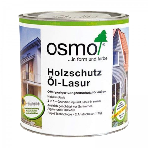 OSMO HOLZSCHUTZ OEL-LASUR - 2.5 LTR
