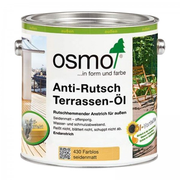 OSMO ANTI-RUTSCH TERRASSEN-OEL -2.5 LTR (430 FARBLOS)