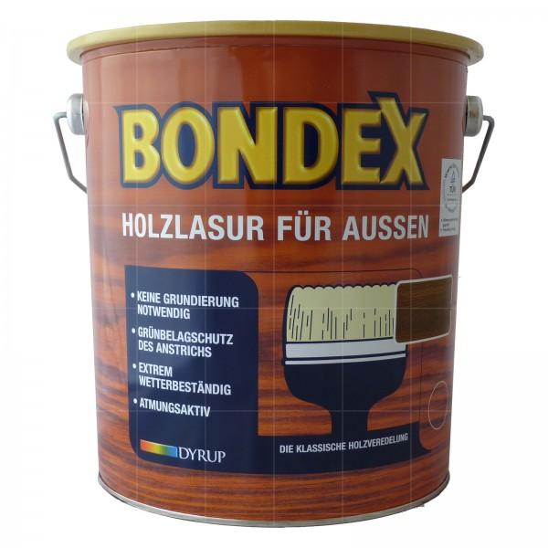 BONDEX HOLZLASUR FUER AUSSEN - 4 LTR