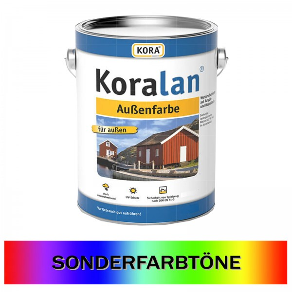 KORA KORALAN AUSSENFARBE - 10 LTR (SONDERTON)