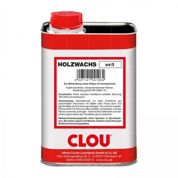 CLOU HOLZWACHS - 1 LTR