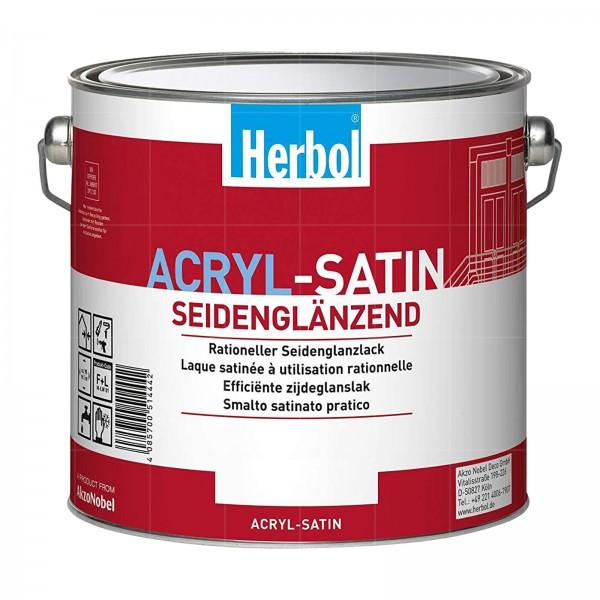 HERBOL ACRYL SATIN - 0.75 LTR (WEISS)