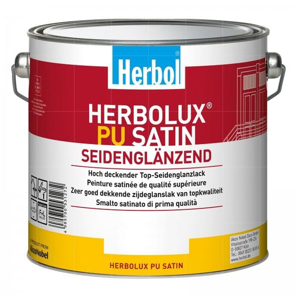 HERBOL HERBOLUX PU SATIN - 2.5 LTR (WEISS)