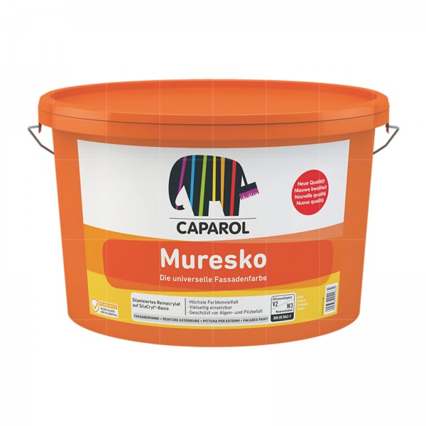 CAPAROL MURESKO - 12.5 LTR (WEISS - NEUE QUALITAET)