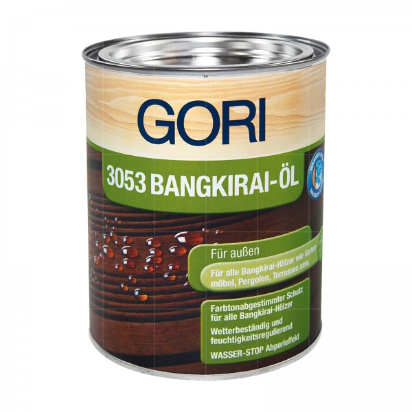 GORI 3053 HOLZ OEL BANGKIRAI - 5 LTR (BANGKIRAI)
