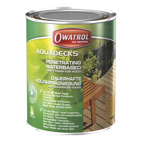 OWATROL AQUADECKS - 1 LTR