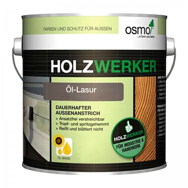 OSMO HOLZWERKER OEL-LASUR - 2.5 LTR
