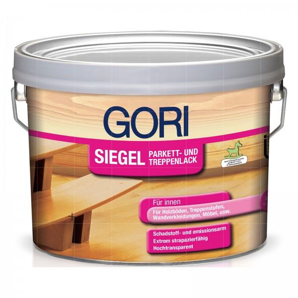 GORI SIEGEL PARKETT UND TREPPENLACK - 2.5 LTR (SEIDENGLAENZEND)