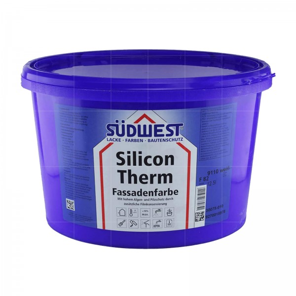 SUEDWEST SILICON THERM - 12.5 LTR (9110 WEISS)