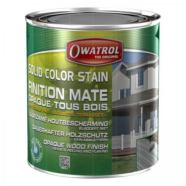 OWATROL SOLID COLOR STAIN - 1 LTR