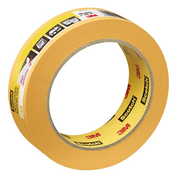 6x SCOTCH 3M Super Malerabdeckband - 30 mm x 50 m