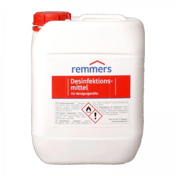 REMMERS OBERFLAECHENDESINFEKTIONSMITTEL (ETOH) - 10 LTR (KUNSTSTOFF)