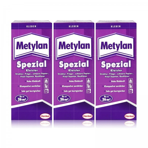 HENKEL METYLAN SPEZIAL KLEISTER - 200g (3er Pack)