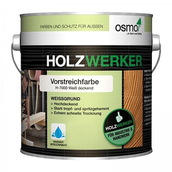 OSMO HOLZWERKER VORSTREICHFARBE - 5 LTR (H-700 WEISS DECKEND)