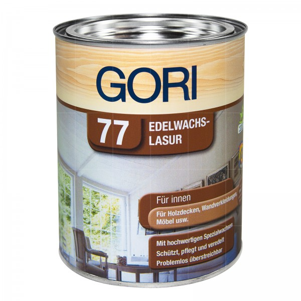 GORI 77 EDELWACHS LASUR - 0.75 LTR (WEISS)