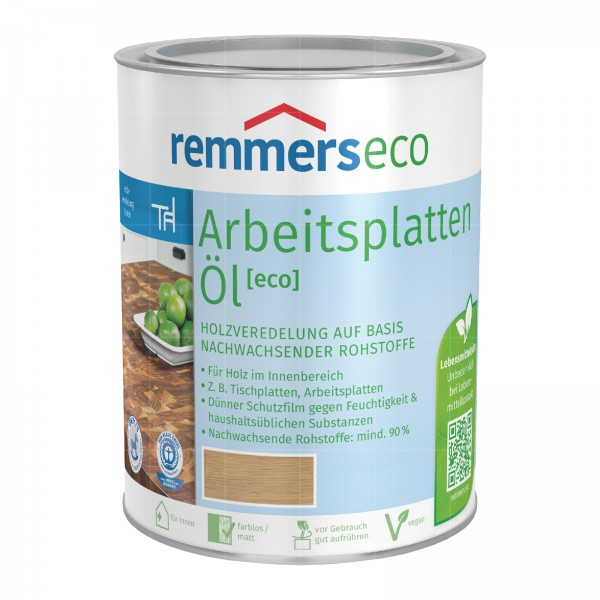 REMMERS ECO ARBEITSPLATTEN-OEL - 0.375 LTR (NATUREFFEKT)