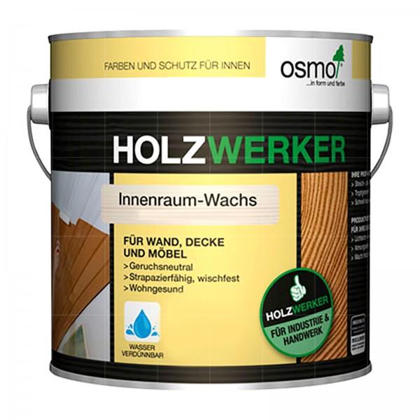 OSMO HOLZWERKER INNENRAUM-WACHS - 5 LTR (H-7394 WEISS DECKEND)