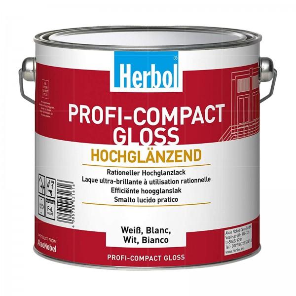 HERBOL PROFI-COMPACT GLOSS - 2.5 LTR (WEISS)