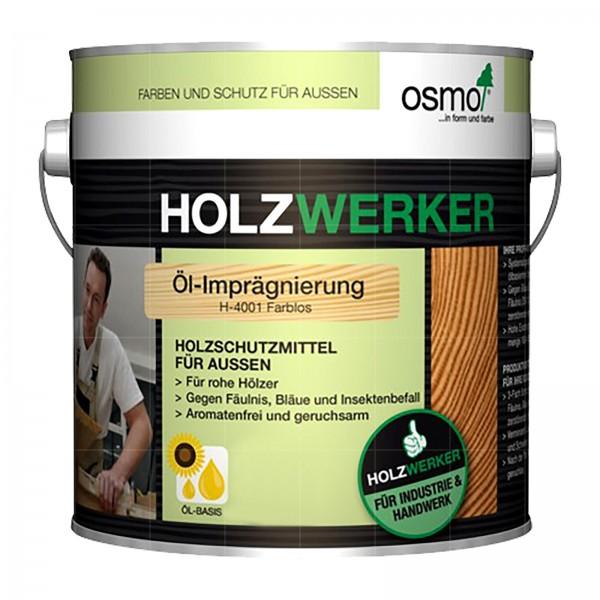 OSMO HOLZWERKER OEL-IMPRAEGNIERUNG - 2.5 LTR (H-4001 FARBLOS)