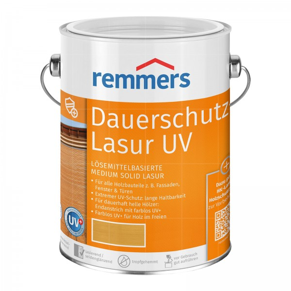 REMMERS DAUERSCHUTZ-LASUR UV - 2.5 LTR