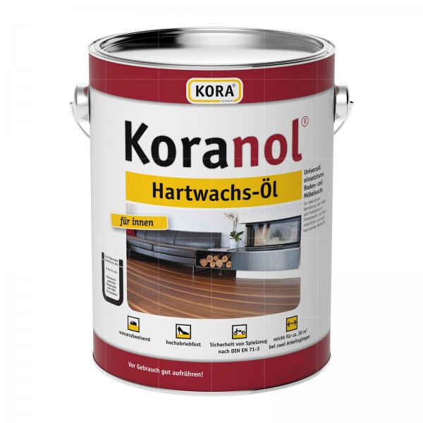 KORA KORANOL HARTWACHS-OEL - 0.75 LTR (NATURWEISS)