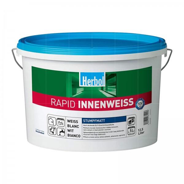 HERBOL RAPID INNENWEISS - 12.5 LTR (STUMPFMATT WEISS)
