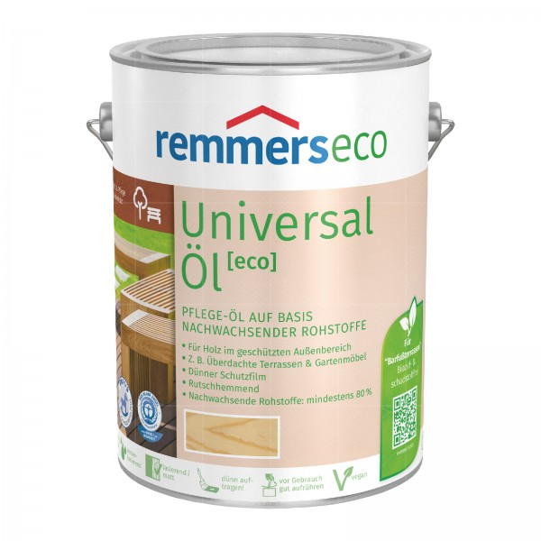 REMMERS ECO UNIVERSAL-OEL - 5 LTR (FARBLOS)
